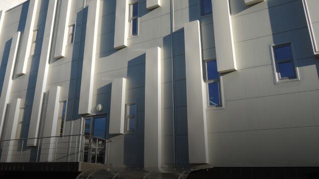 Комплектация фасадными и стеновыми материалами - CKS